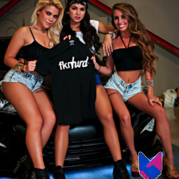 Ladies Fknhard Shirt at Hot Import Nights