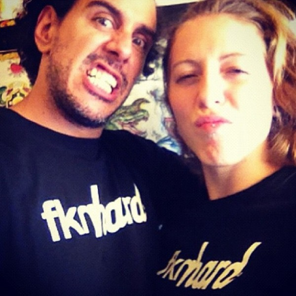 Ladies Fknhard shirt at Tattoos by Lou