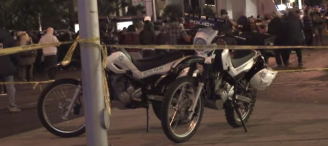 caution do not cross fknhard las vegas police department dirtbikes xt250 yamaha