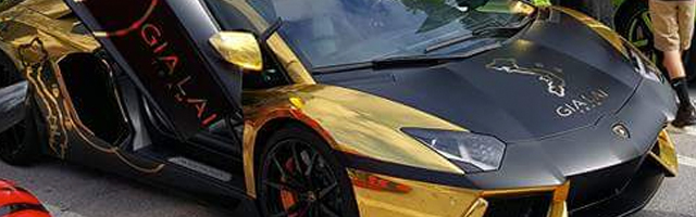 cars-and-coffee-fknhard-magazine-exotic-cars-event-westpalmbeach-palm-beach-outlets-gold-lamborghini