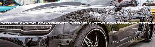 fknhard-cars-and-coffee-black-camaro-car-headlights-eddy-dejesus-photography