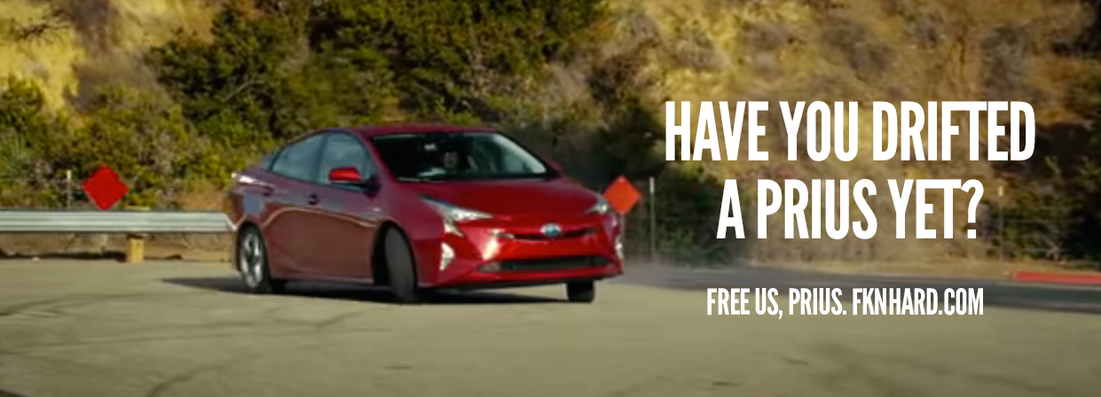 Have you Drifted a Prius Yet?