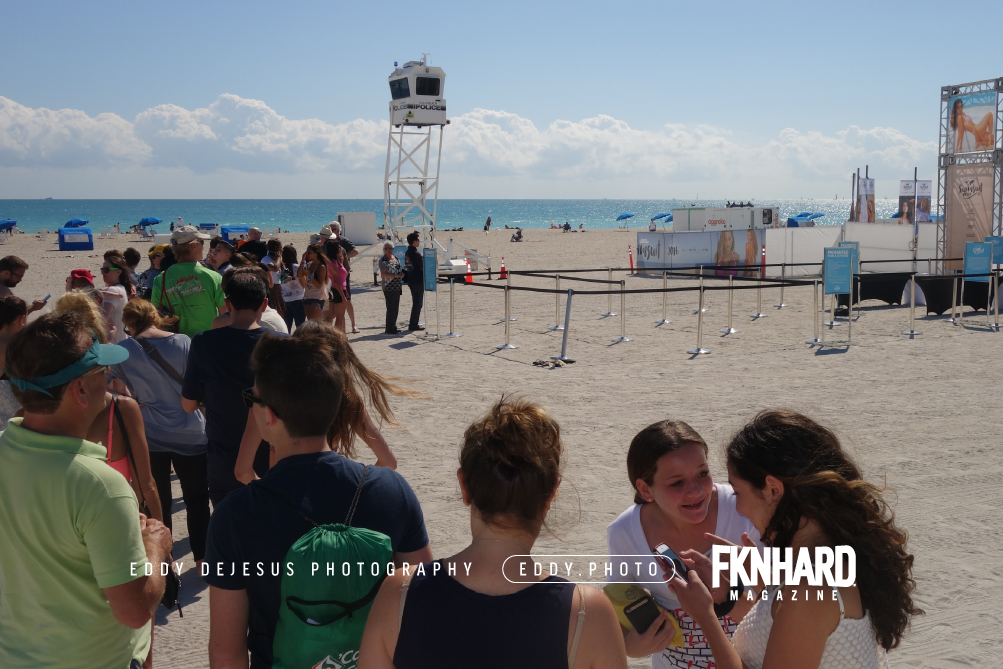 EddyDeJesus-Photography-Fknhard-Magazine-Sports-Illustrated-Swimsuit-Beach-tent-entrance-long-line-waiting-in-line
