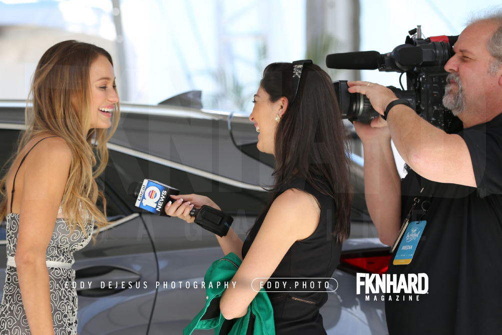 EddyDeJesus-Photography-Fknhard-Magazine-Sports-Illustrated-Swimsuit-interview-channel10-news-michael-cors-glasses-french-manicure-videographer-cameraman-hannah-davis-interview