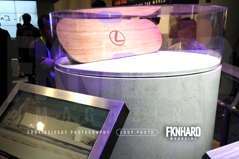 eddy-dejesus-photography-fknhard-magazine-ces-2016-silver-lexus-slide-board-hoverboard-mcfly-back-to-the-future-hover