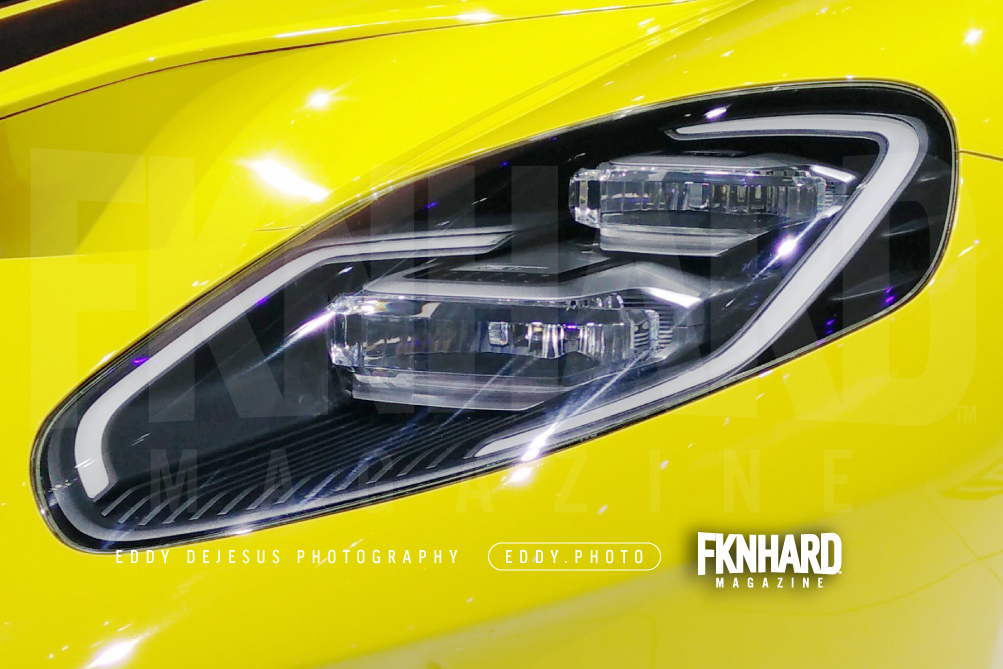 Eddy Dejesus Photography Fknhard Magazine Ces  Yellow Ford Gt   Closeup Headlights Grill Clear