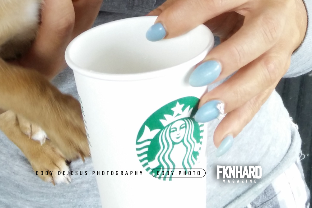 eddy-dejesus-photography-fknhard-magazine-starbucks-cup-mint-nails-fashion-bowtie-charms