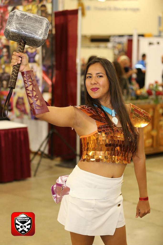 cosgamer-3-fknhard-magazine-cosplay-gaming-hottie-babes-top-10-supercon-2016-miami-beach-july4-thor-marvel-superhero-thor-hammer-futuristic-pocahontas-disney-princess-warrior-collection
